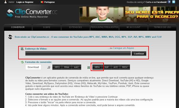 Como baixar vdeos do youtube em mp4 usando o site clipconverter mp4 para que ele baixe o vdeo e converta no formato citado para que ento voc possa fazer o download editar como quiser e enviar para seu streaming ccuart Images